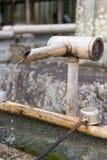 Woda pitna przy Tenryuji Zdjęcia Royalty Free