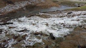 Woda przepływy Zdjęcia Stock