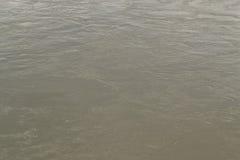 Woda rzeczna, tekstura Zdjęcia Royalty Free