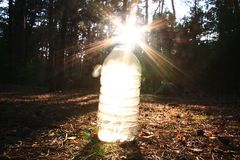 woda, słońce Zdjęcia Royalty Free