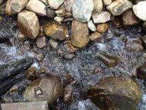 Woda & skała Obrazy Stock