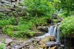 Woda Spada Sceniczny Zdjęcie Royalty Free