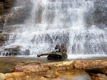 Woda spadki Fotografia Royalty Free