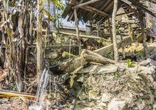 Woda ubijanie zasilana maszyna zdjęcia stock