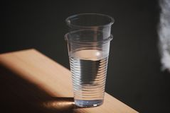 Woda w przestrzeni fotografia royalty free