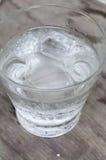 Woda w szkle obrazy stock