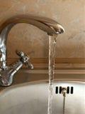 woda z kranu Obraz Stock