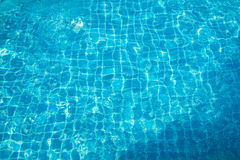 Woda z słońc odbiciami Obraz Royalty Free
