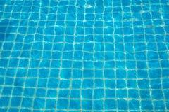 Woda z słońc odbiciami Zdjęcie Stock