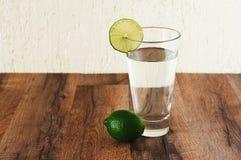 Woda z wapnem Obrazy Stock