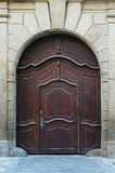 Wodden drzwi Obraz Stock