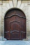 Wodden Tür Stockbild