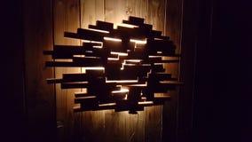 Woddenlamp Stock Image