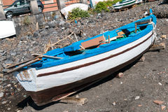 Woden Boat Stock Images