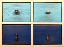 Woden box drawer facade Royalty Free Stock Image