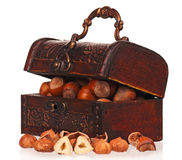 Woden chest Royalty Free Stock Images
