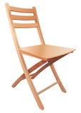 Woden odwracalny krzesło Obraz Royalty Free