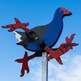 Woden Wind Bird Stock Photo