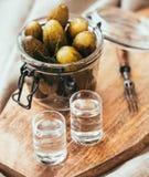 wodka Royalty-vrije Stock Foto's