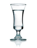Wodka in einem Schußglas Lizenzfreie Stockfotos