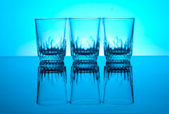 Wodka glasesg Stockbild