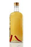 Wodka mit Pfeffer. Stockfotografie