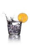 Wodka mit Zitrone Lizenzfreie Stockfotografie