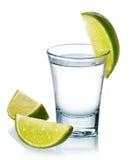 Wodkaschot Royalty-vrije Stock Foto's