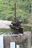 Wodna brama Zdjęcie Royalty Free