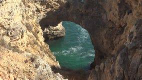 Wodna cavern jama, grota lub zdjęcie wideo