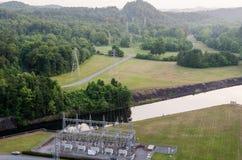 Wodna elektrownia Zdjęcia Royalty Free