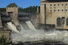 Wodna elektrownia Fotografia Stock