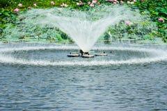 Wodna fontanna Fotografia Royalty Free