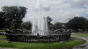 Wodna fontanna Fotografia Stock