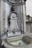 Wodna fontanna - Bruges, Belgia Zdjęcia Stock