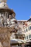 Wodna fontanna Dubrovnik fotografia royalty free