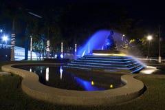 Wodna fontanna, losu angeles Choca park w Meksyk, Tabasco, Villahermosa Zdjęcia Stock