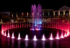 Wodna fontanna w Gołębiej kuźni, Tennessee Obraz Stock