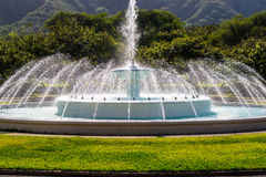 Wodna fontanna, Waikiki Fotografia Royalty Free