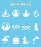 Wodna ikona Zdjęcie Royalty Free