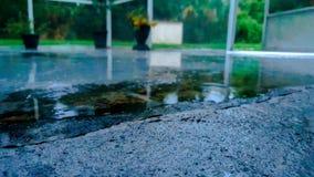Wodna kałuża fotografia stock