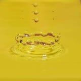 Wodna kropla Obrazy Royalty Free