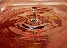Wodna kropla Fotografia Stock