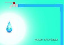 Wodna kropla z drymbą na tle, Fotografia Stock