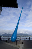 Wodna opadowa grafika Vancouver Fotografia Royalty Free