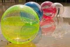 Wodna piłka Zdjęcie Royalty Free