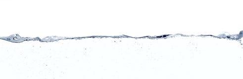 Wodna powierzchni linia Obrazy Royalty Free