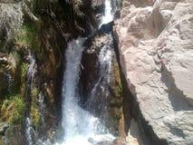 Wodna strumień katarakta Zdjęcia Stock