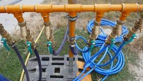 Wodne drymby, wodni dystrybutory, wodni związki Zdjęcia Stock