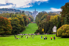 Wodne gry w Kassel Obraz Royalty Free